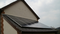 Solar Panels installed iin Llanberis